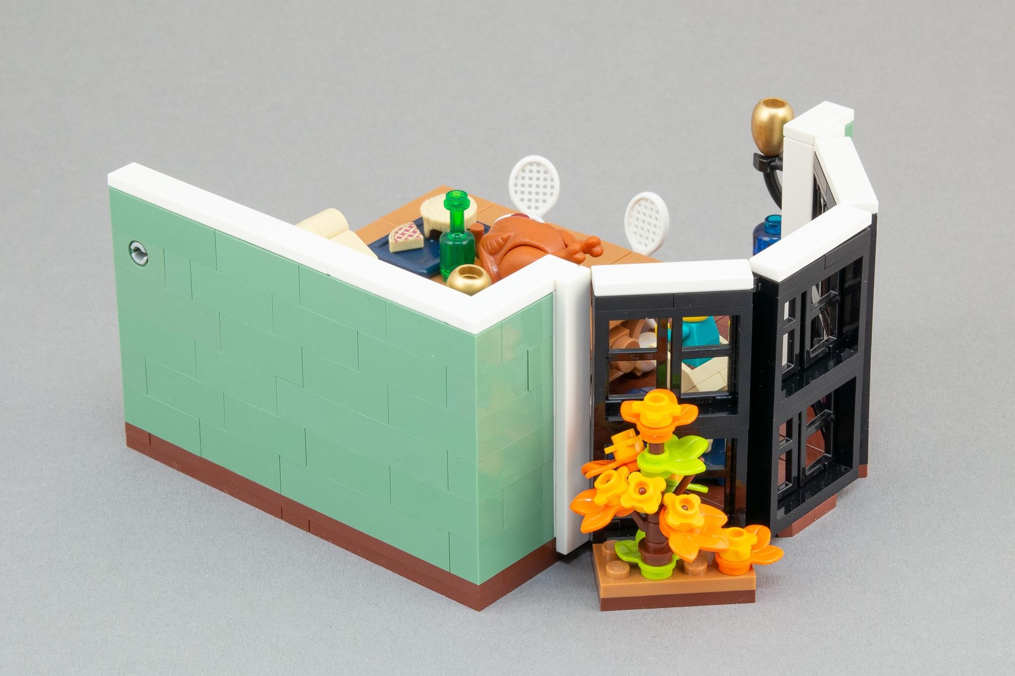 LEGO Moc Bausinpiration Esszimmer Rueckseite
