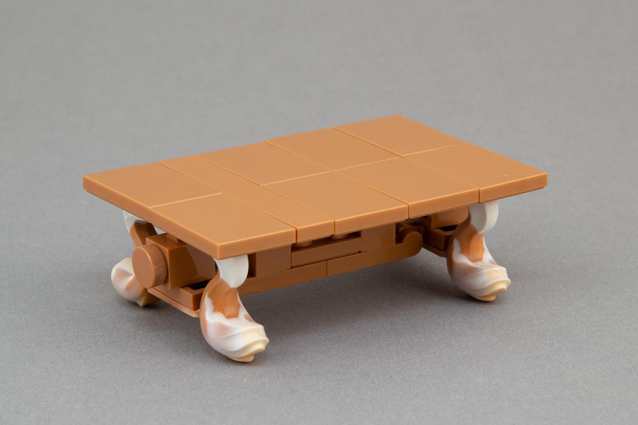 LEGO Moc Bausinpiration Esszimmer Tisch (6)