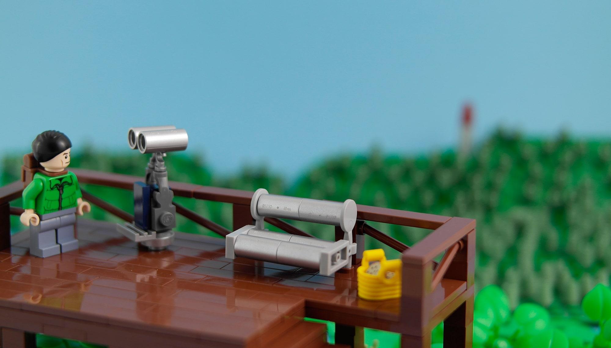 LEGO Moc Iron Builder 2016 Aussicht