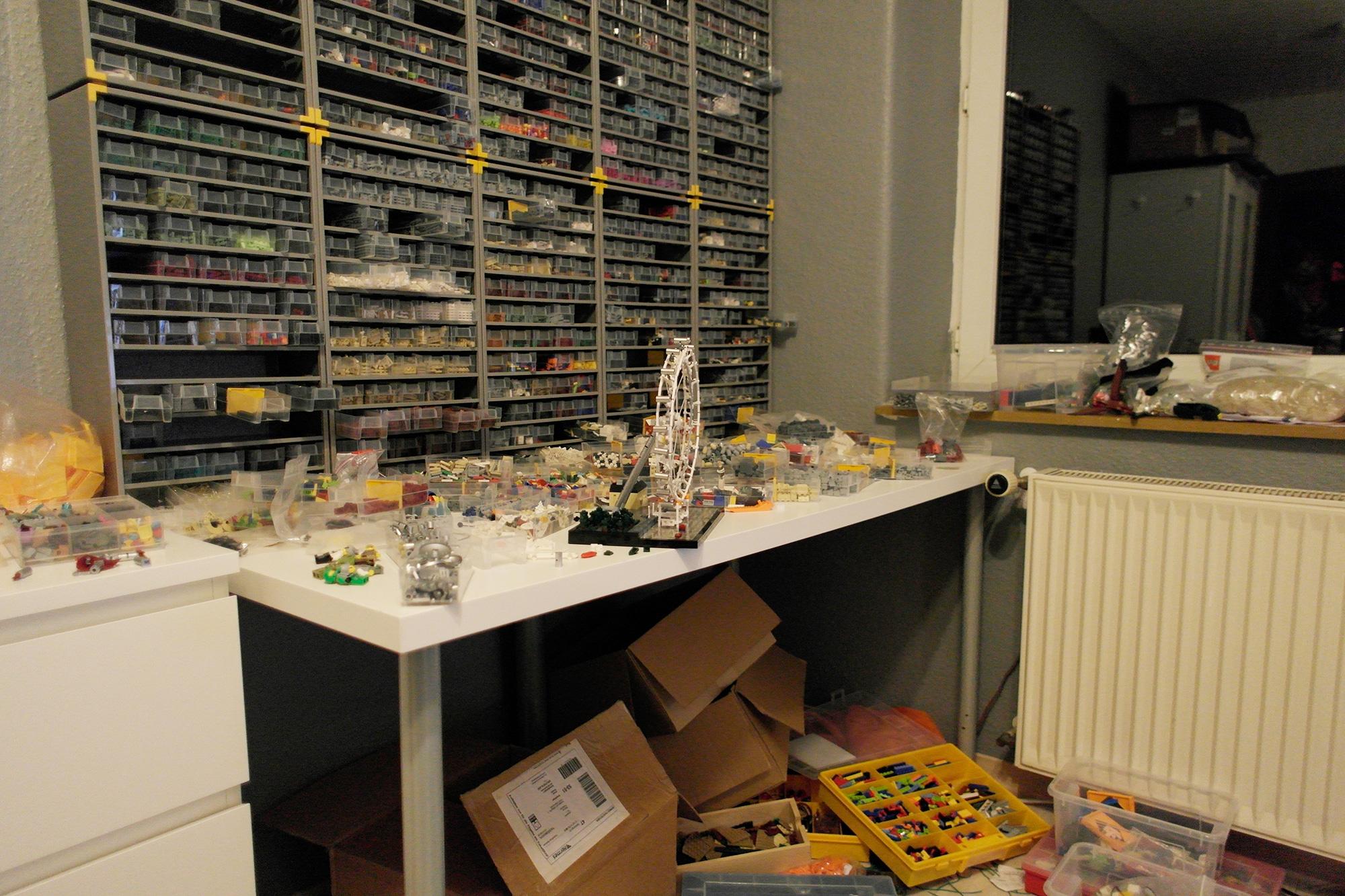LEGO Moc Iron Builder 2016 Bauzimmer