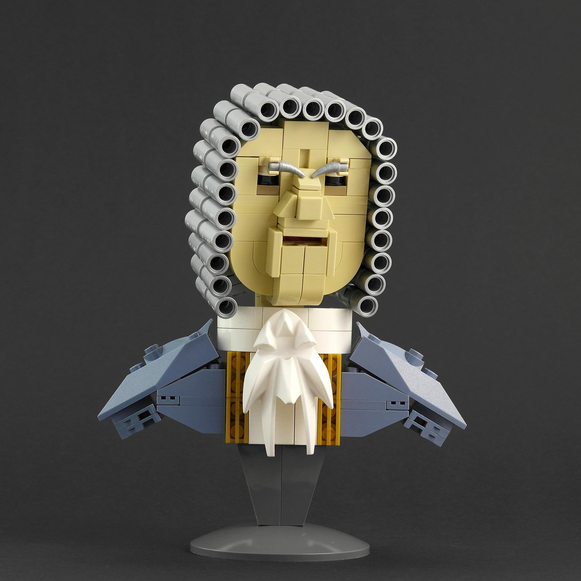 LEGO Moc Iron Builder 2016 Gouverneur Swan