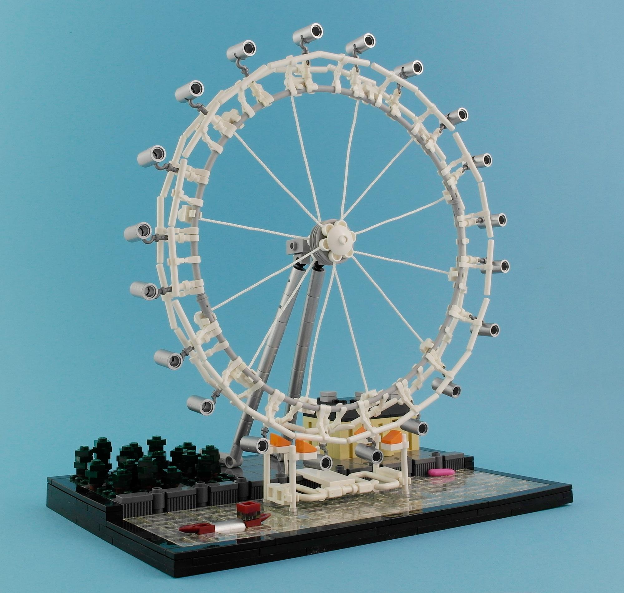 LEGO Moc Iron Builder 2016 London Eye