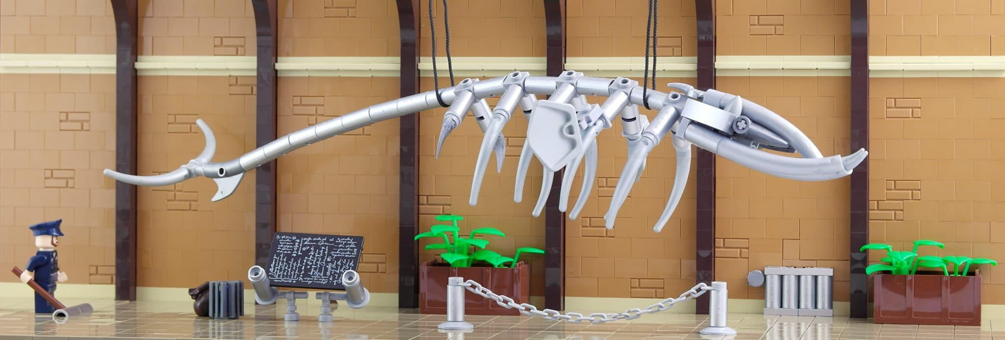 LEGO Moc Iron Builder 2016 Museum