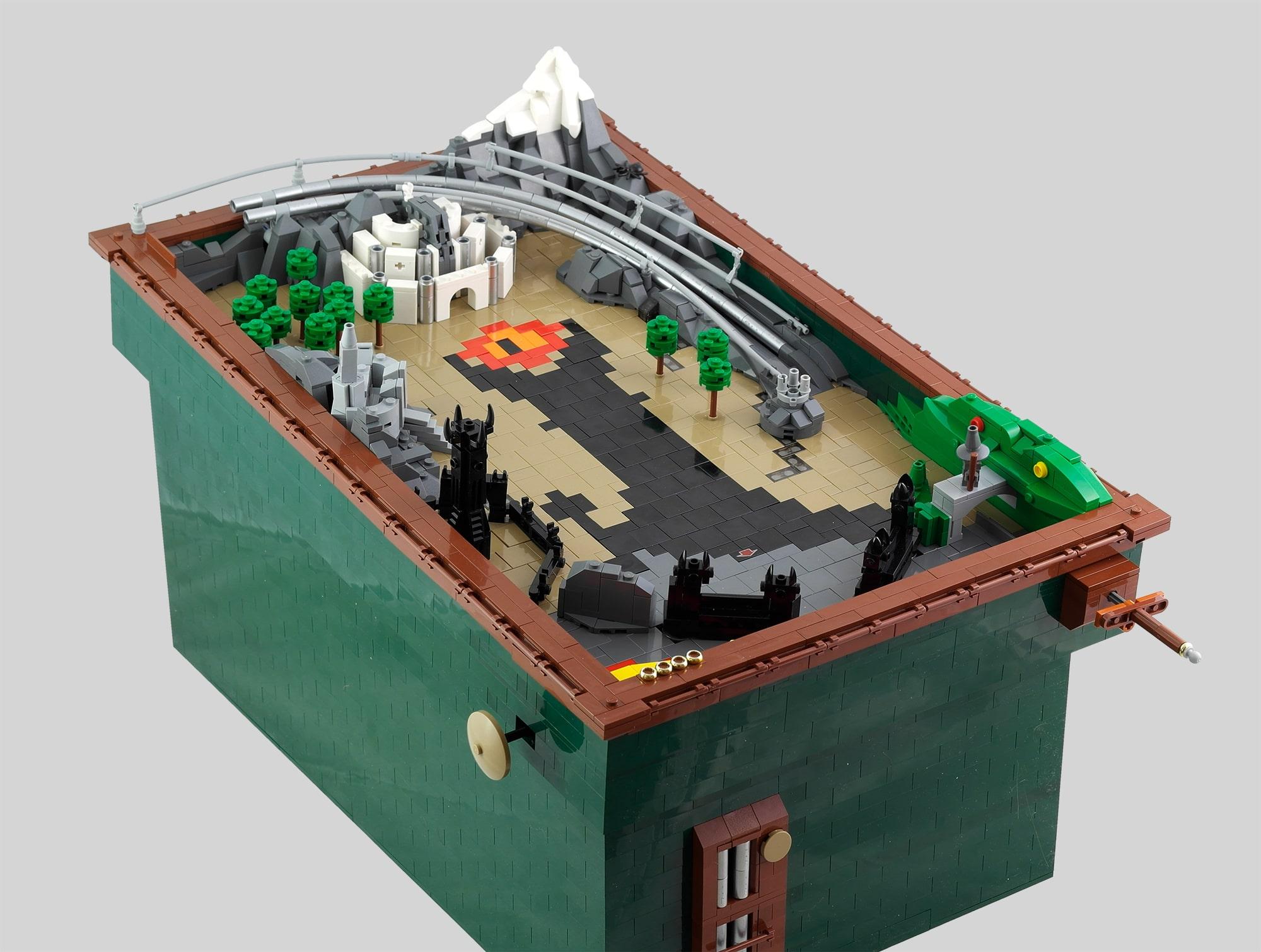 LEGO Moc Iron Builder 2016 Pinball Herr Der Ringe