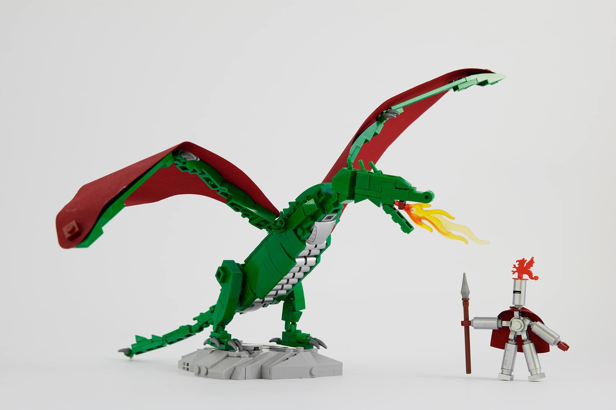 LEGO Moc Iron Builder 2016 Ritter