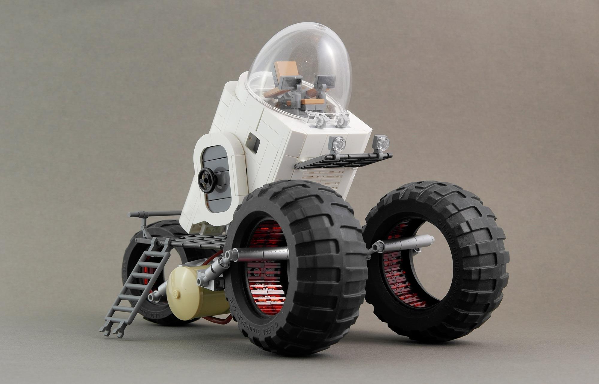 LEGO Moc Iron Builder 2016 Rover