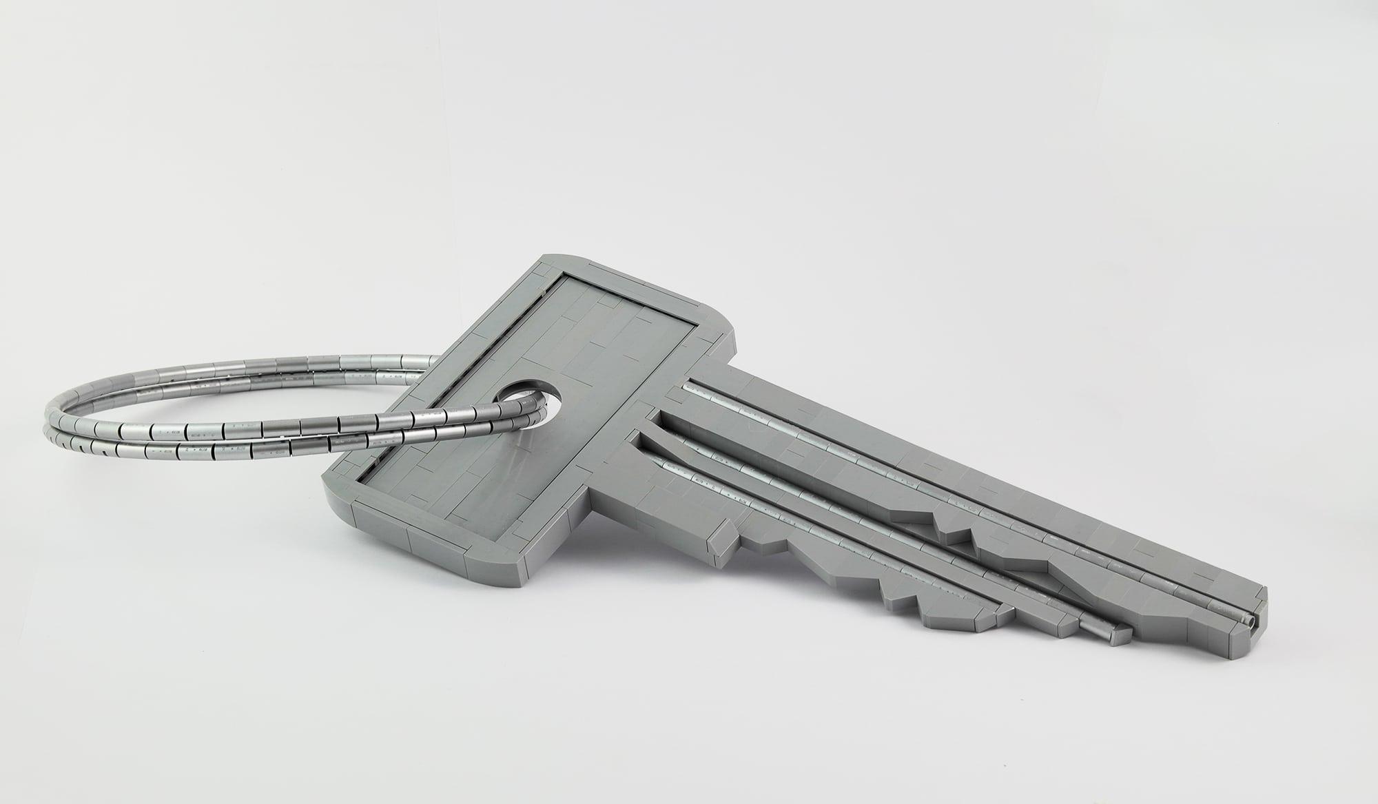 LEGO Moc Iron Builder 2016 Schluessel