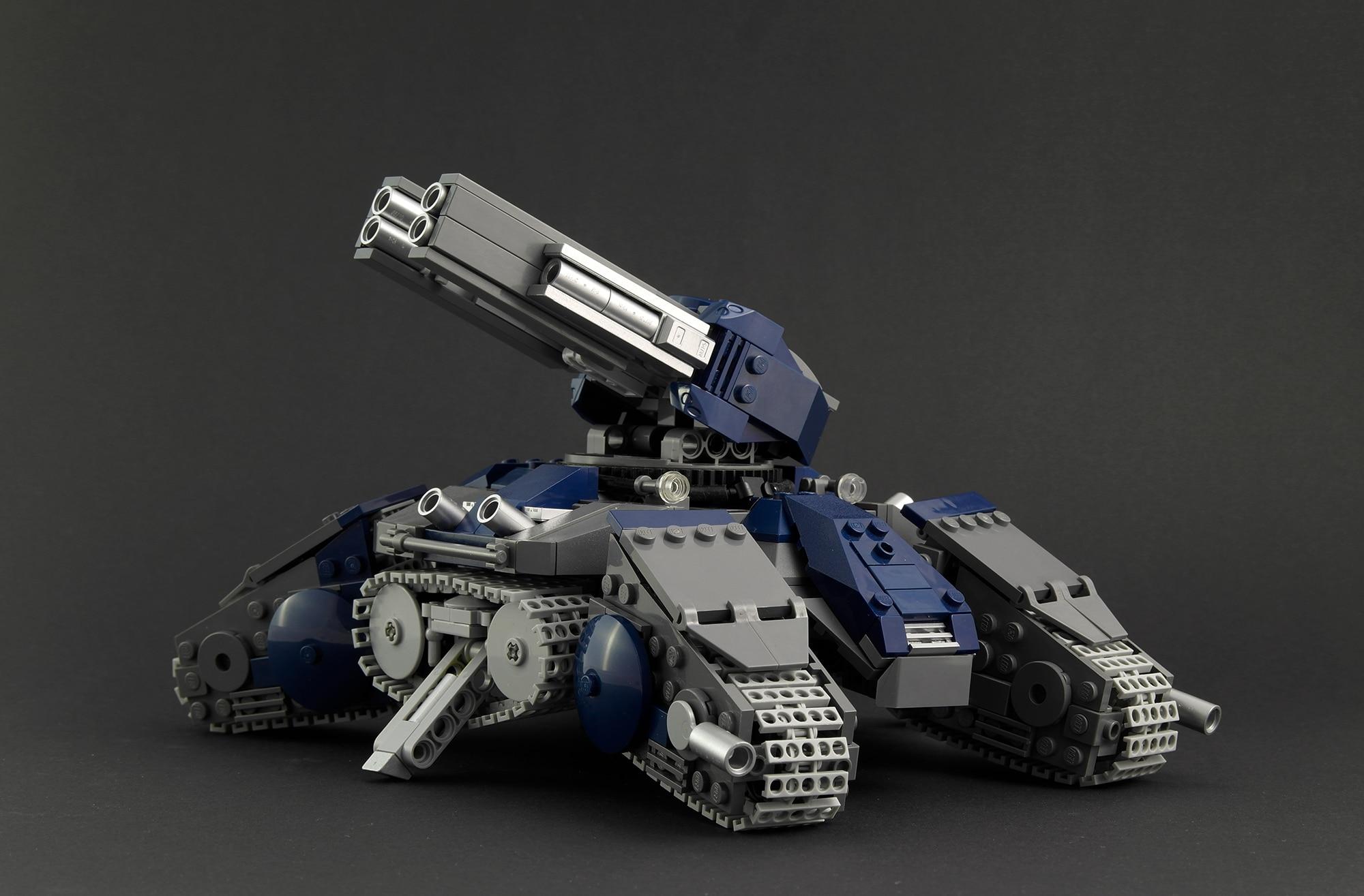 LEGO Moc Iron Builder 2016 Siegetank