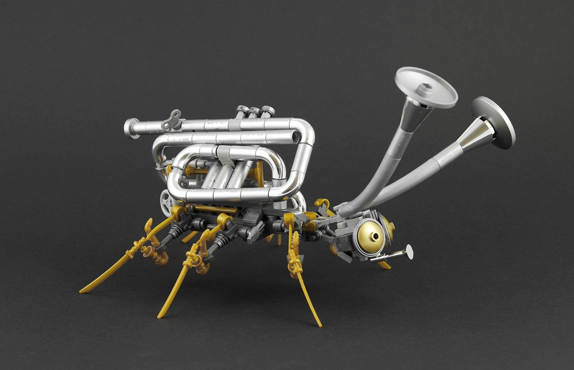 LEGO Moc Iron Builder 2016 Steampunk Kaefer