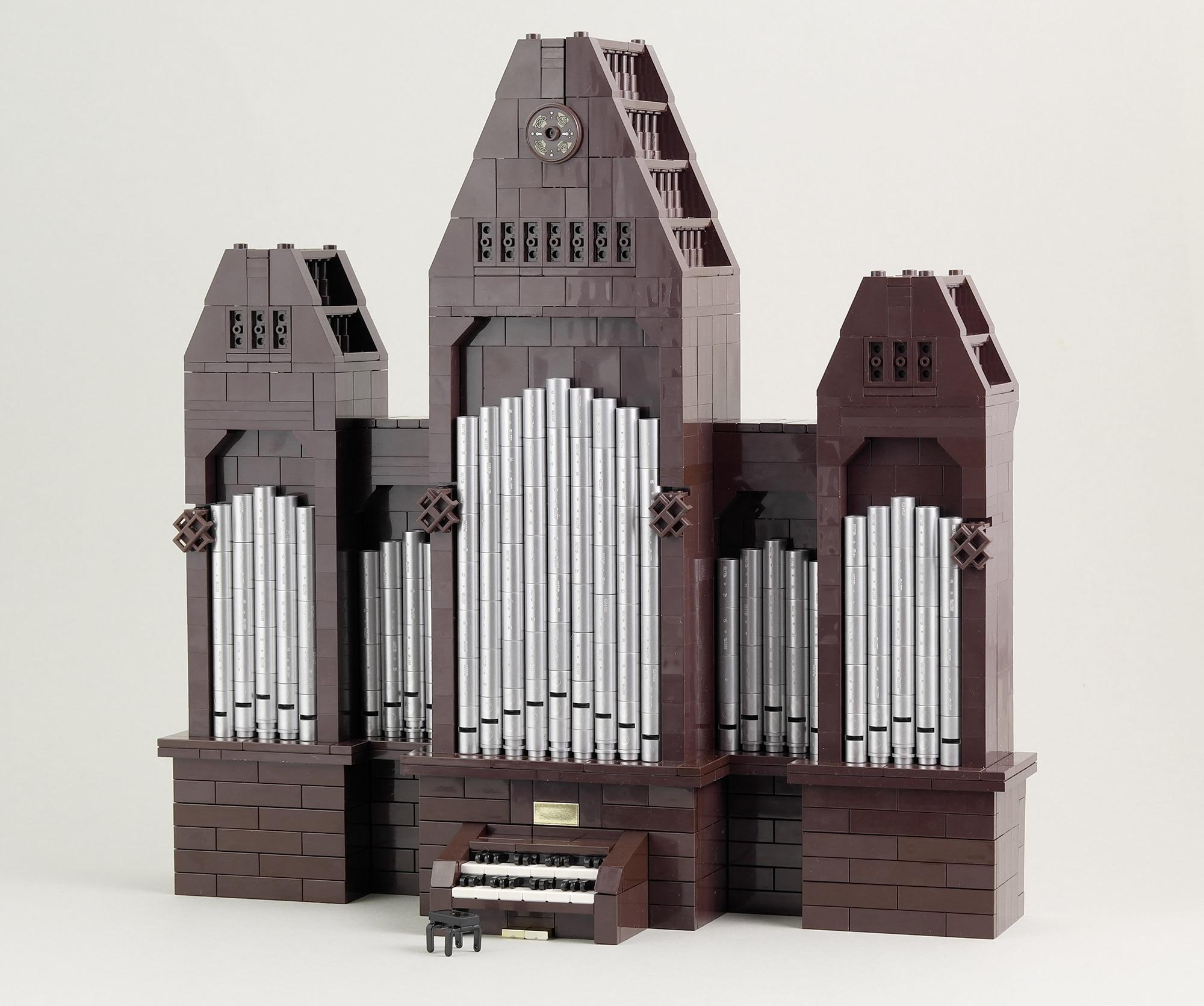 LEGO Moc Iron Builder 2016orgel
