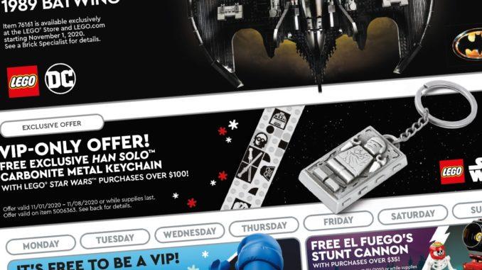 LEGO Store Flyer November 2020
