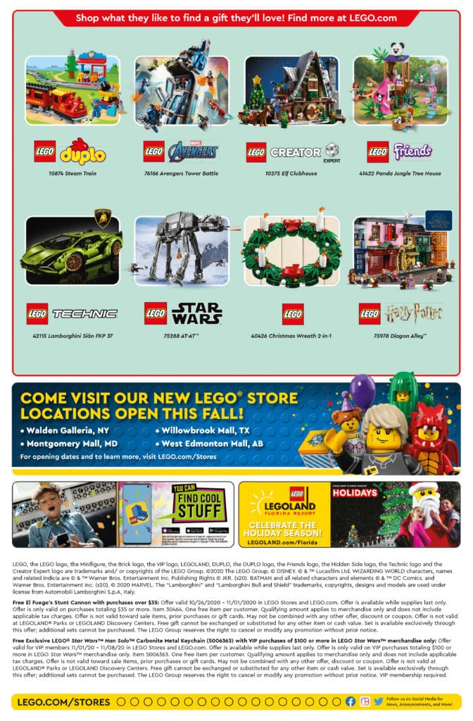 LEGO Store Flyer November 2020 (Seite 2)
