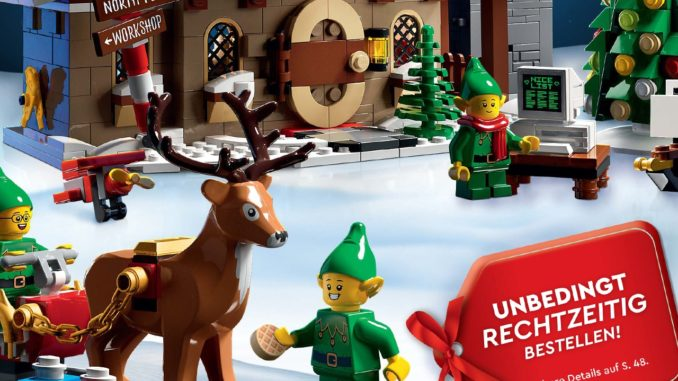 LEGO Weihnachtskatalog 2020