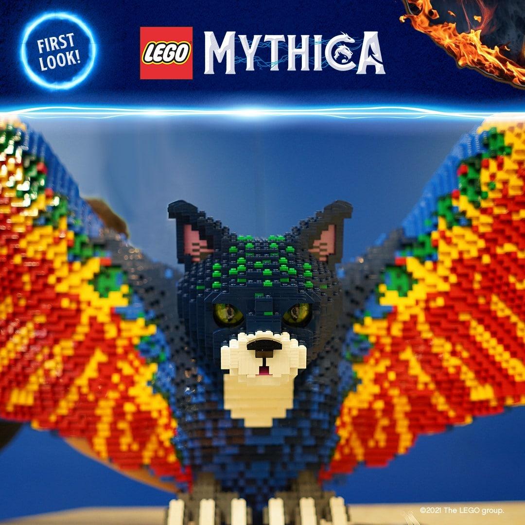 LEGOland Mythica Skulptur Katze Papagei Erstes Bild