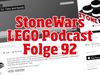 Stonewars LEGO Podcast Folge 92