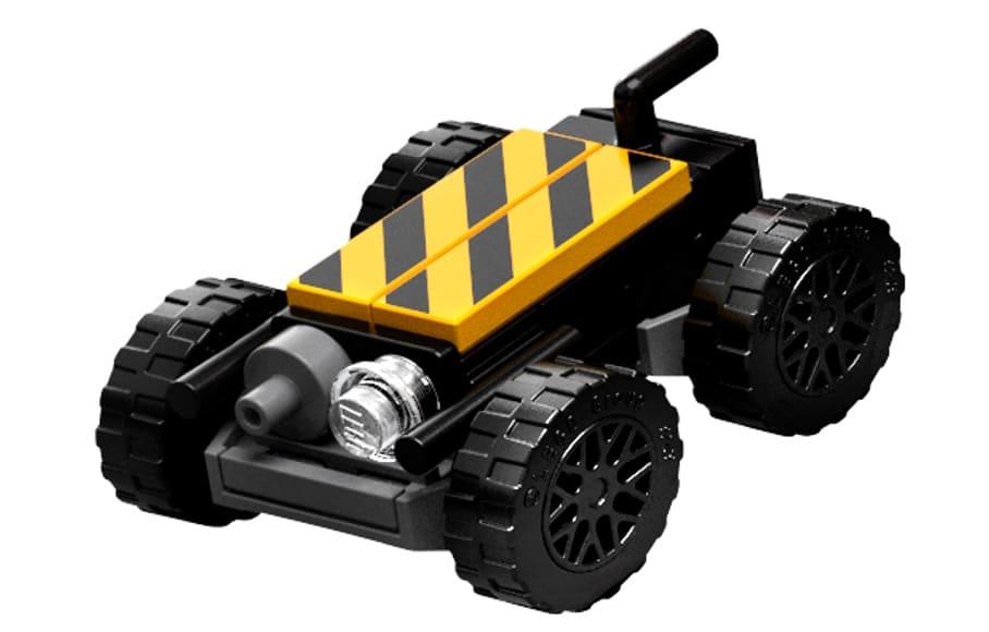 LEGO 10274 Ecto 1 Geisterfalle Mini Buggy