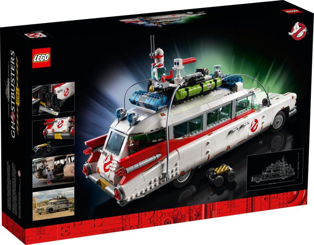 LEGO 10274 Ghostbusters Ecto-1 (Box Rückseite)