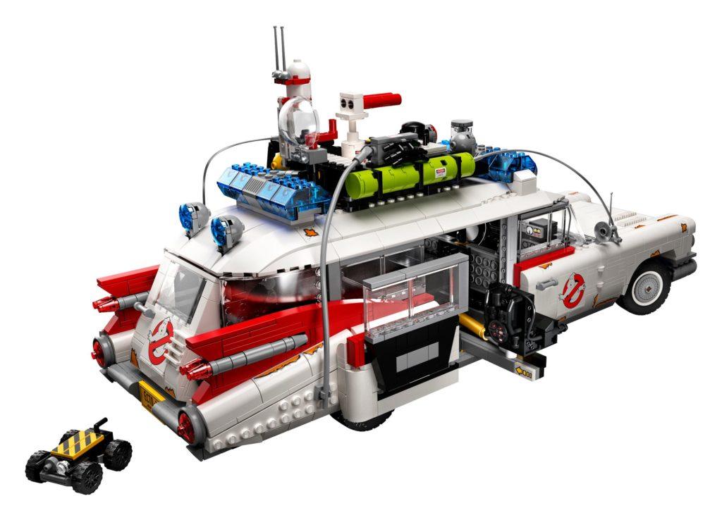 LEGO 10274 Ghostbusters ECTO-1 (Rückansicht)