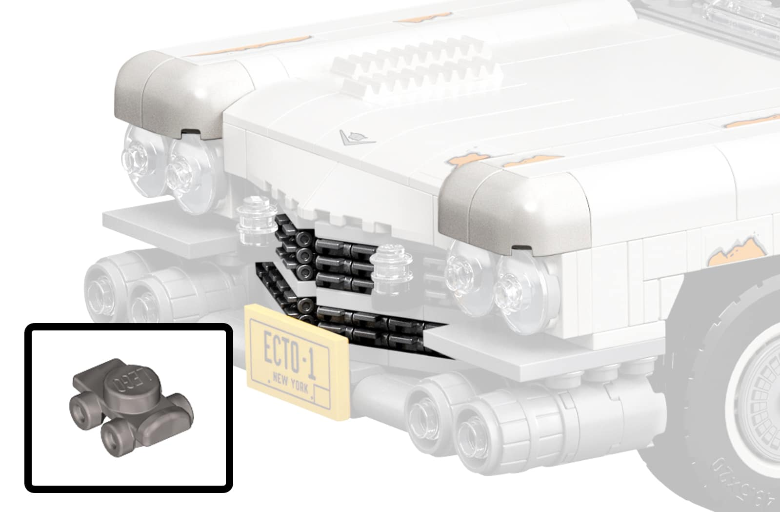 LEGO 10274 Ghostbusters Ecto 1 Front