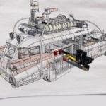 LEGO 10274 Ghostbusters Ecto 1 Zeichnung