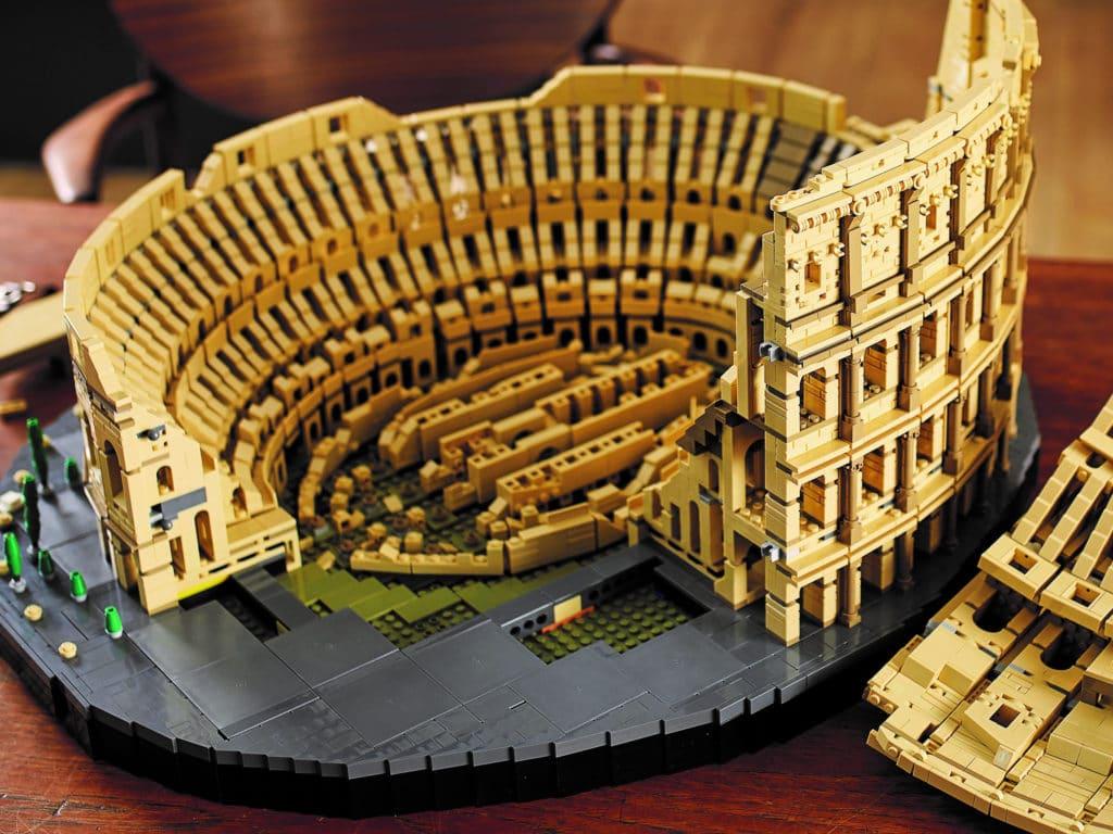 LEGO 10276 Colosseum Innen