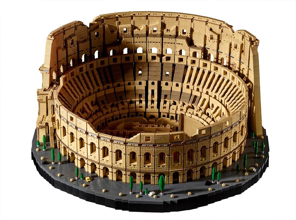LEGO 10276 Colosseum Real Vergleich 3