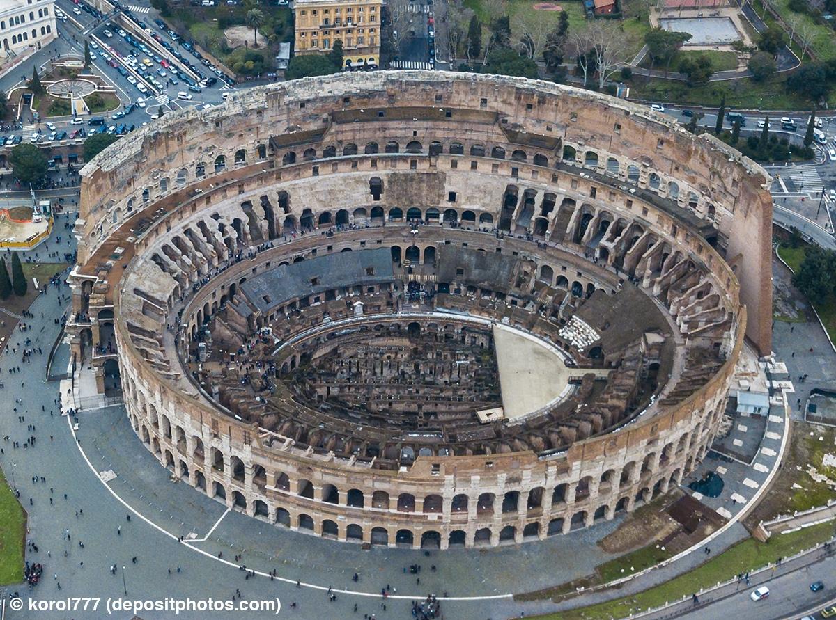 LEGO 10276 Colosseum Real Vergleich 4