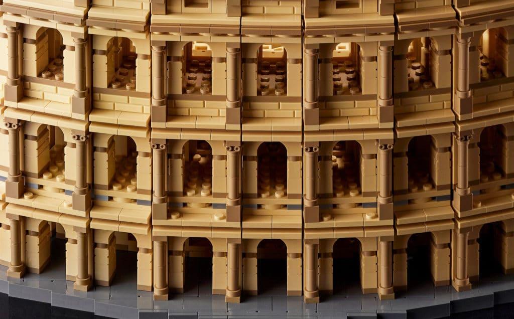 LEGO 10276 Colosseum Säulen