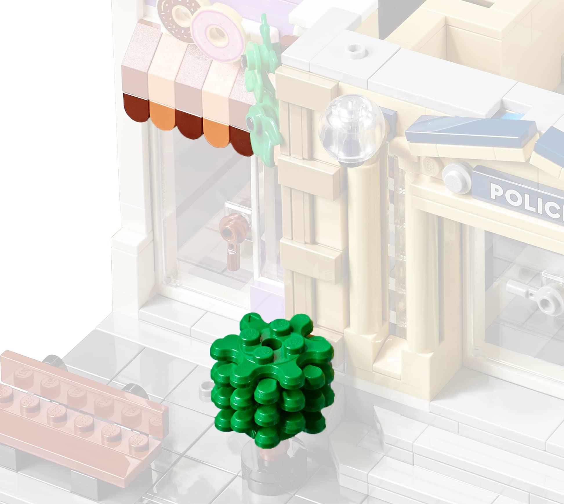 LEGO 10278 Polizeistation Modular Building Neue Teile02