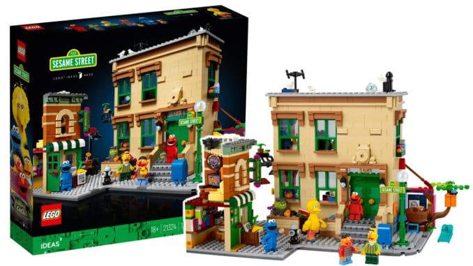 LEGO 21324 Sesamstraße Titelbild