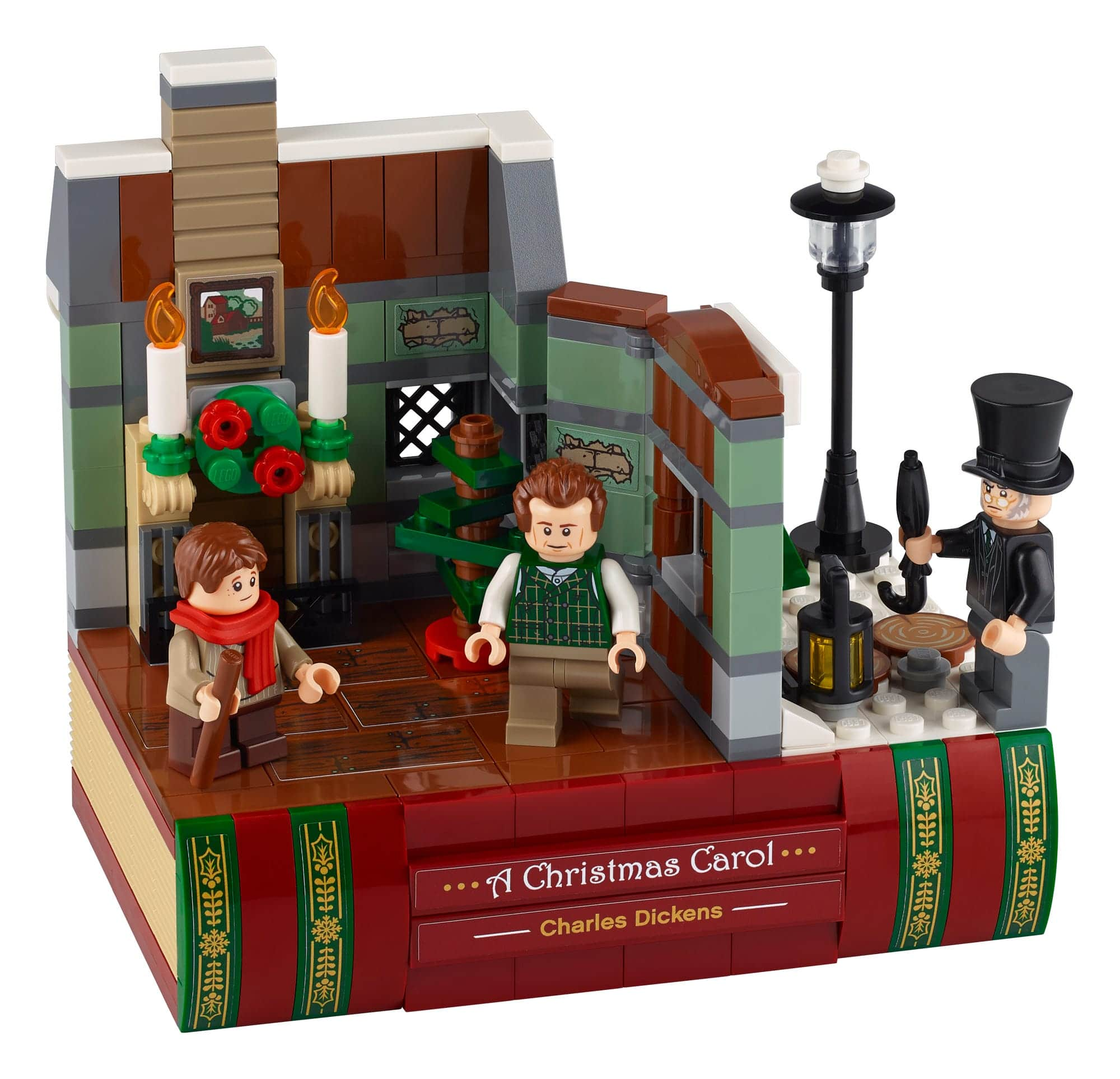 LEGO 40410 Hommage An Charles Dickens 1