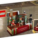 LEGO 40410 Hommage an Charles Dickens (Box Vorderseite)