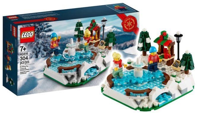 LEGO 40416 Eislaufplatz Gratisbeilage Titelbild