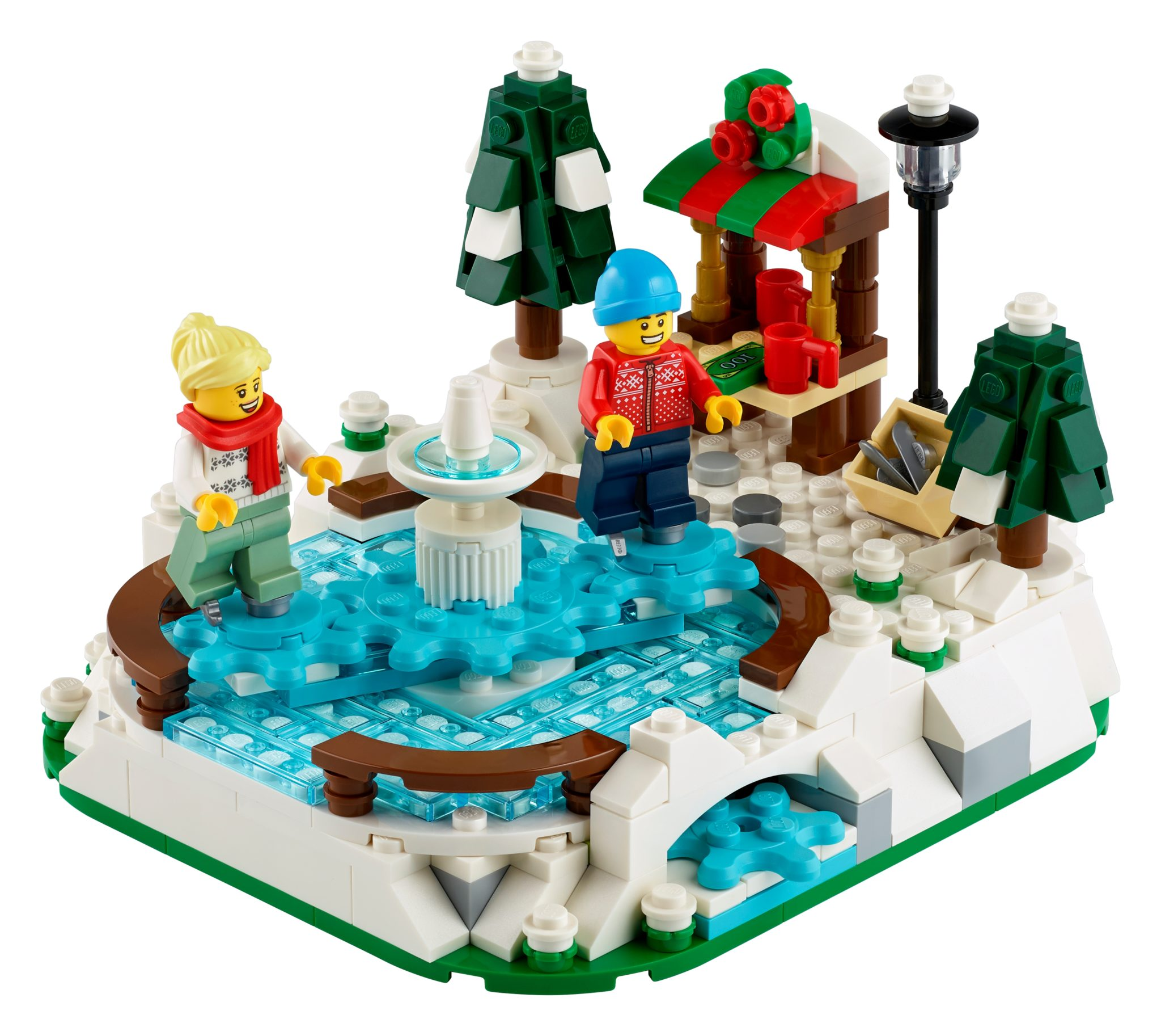 LEGO 40416 Eislaufplatz Gratisbeilage