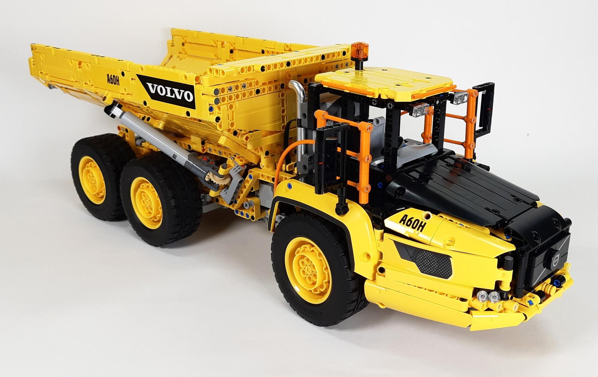 LEGO 42114 Knickgelenkter Volvo Dumper 09