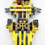 LEGO 42114 Knickgelenkter Volvo Dumper Bauabschnitt 1 01