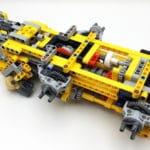 LEGO 42114 Knickgelenkter Volvo Dumper Bauabschnitt 1 03