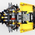 LEGO 42114 Knickgelenkter Volvo Dumper Bauabschnitt 2 06