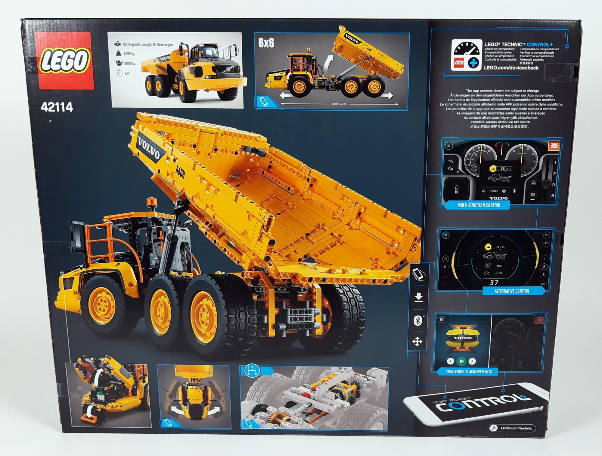 LEGO 42114 Knickgelenkter Volvo Dumper - Box hinten
