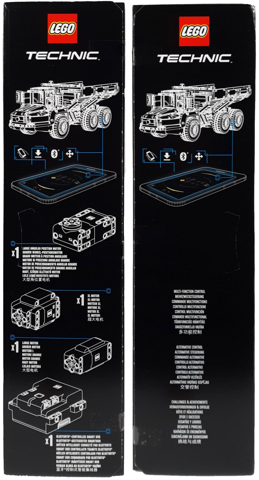 LEGO 42114 Knickgelenkter Volvo Dumper Box Seite 1