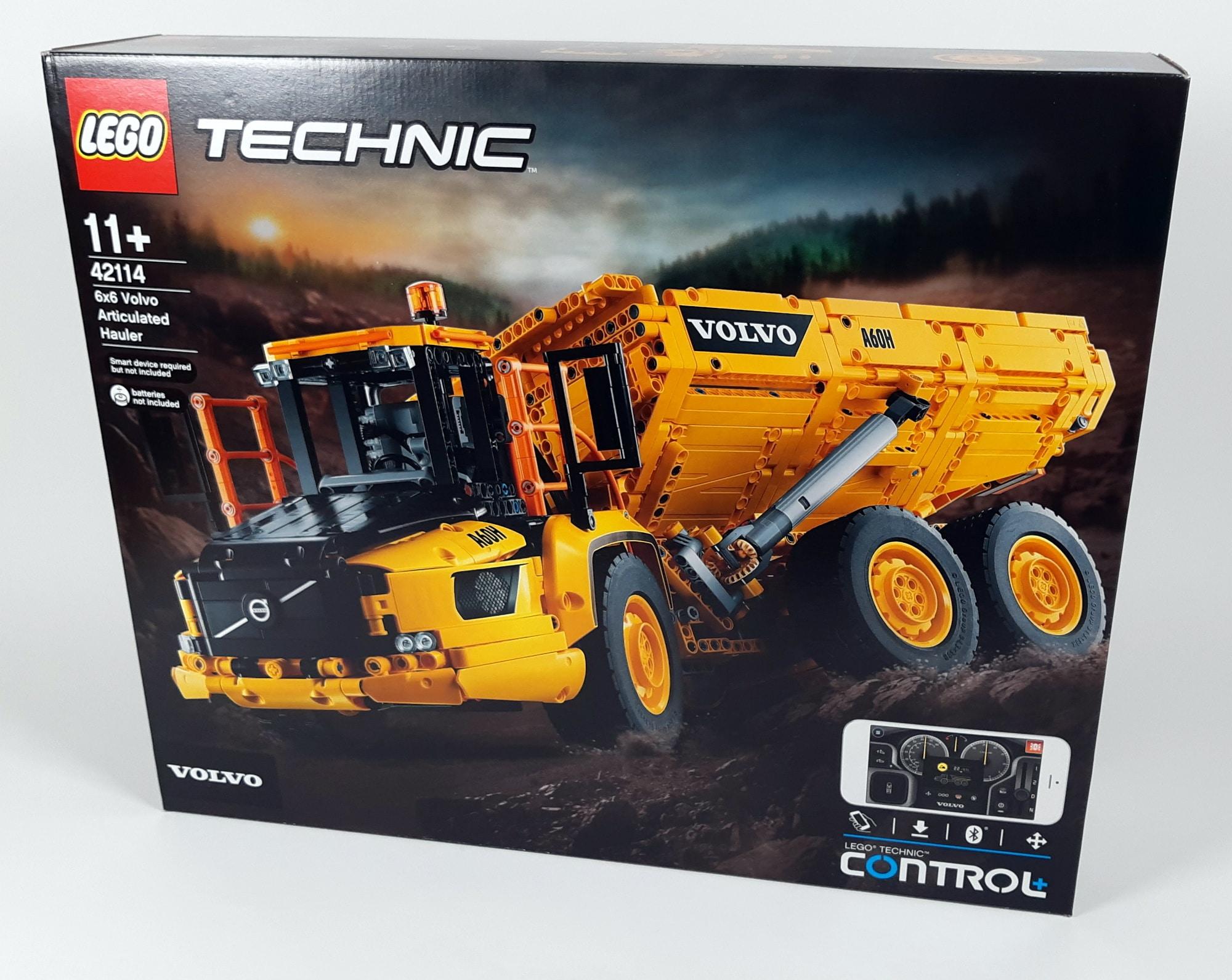 LEGO 42114 Knickgelenkter Volvo Dumper - Box vorne