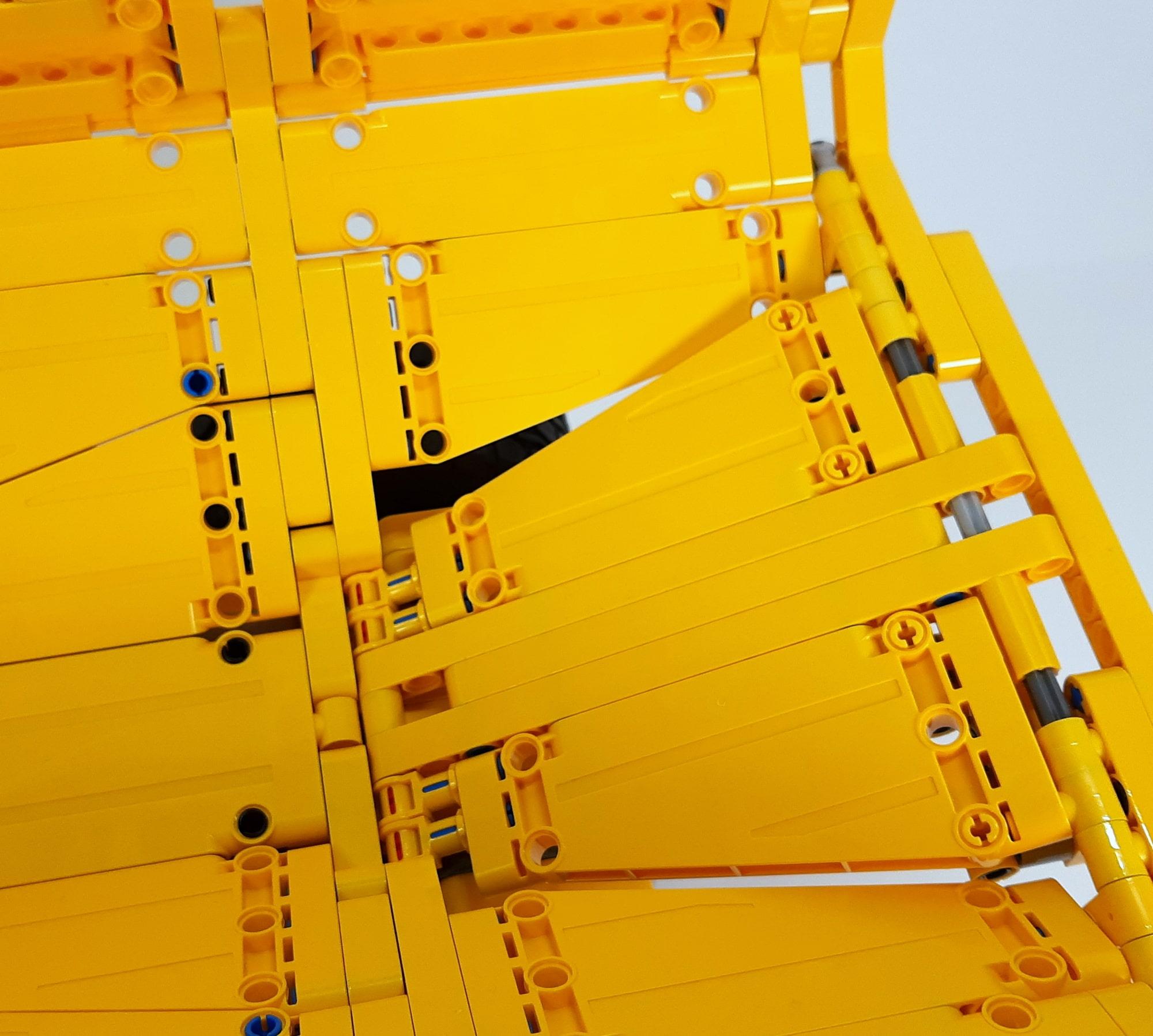 LEGO 42114 Knickgelenkter Volvo Dumper Detail Löcher In Der Mulde