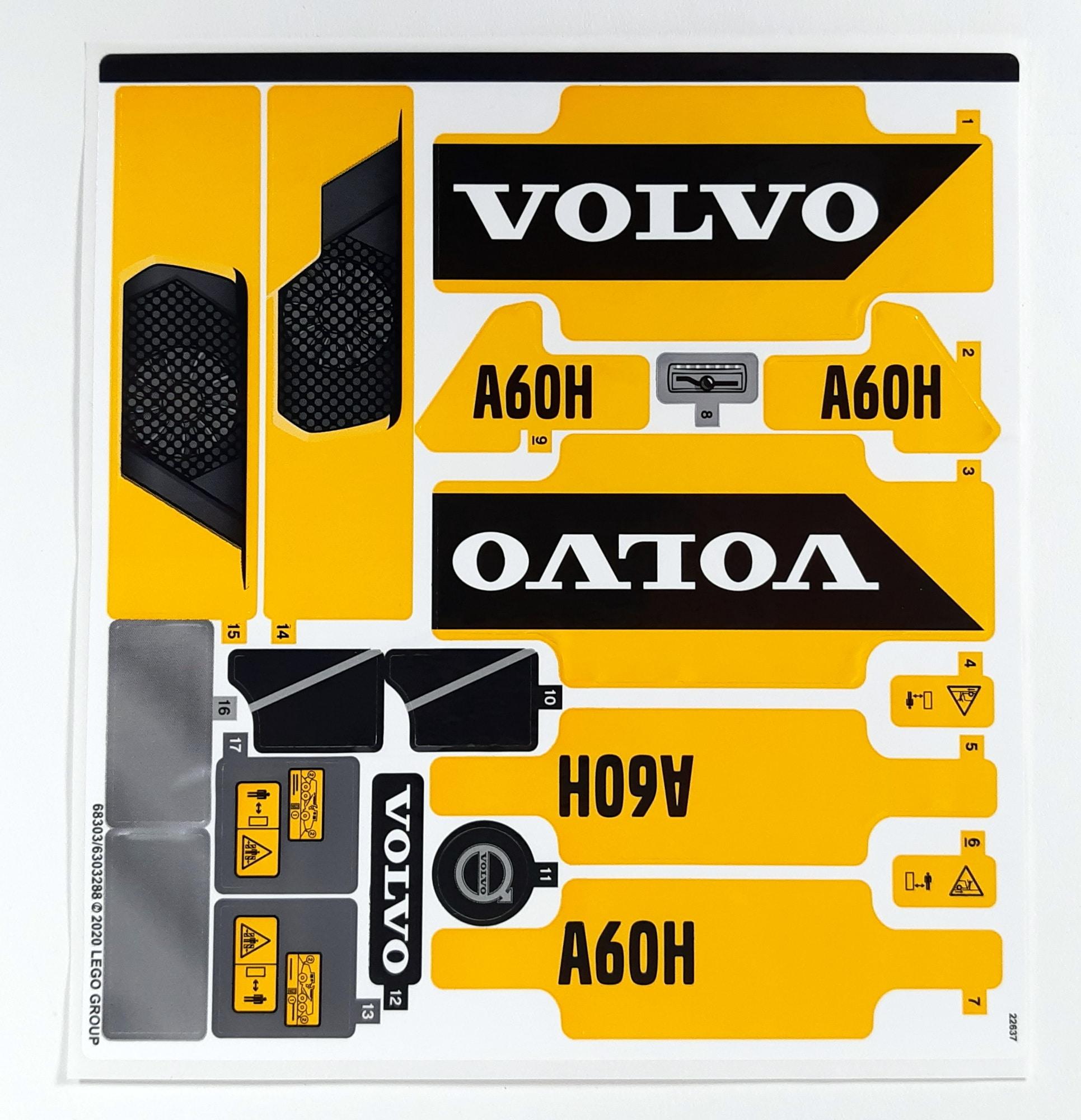 LEGO 42114 Knickgelenkter Volvo Dumper Unused 10