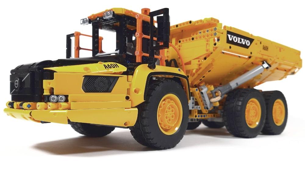 LEGO 42114 Knickgelenkter Volvo Dumper Vergleich