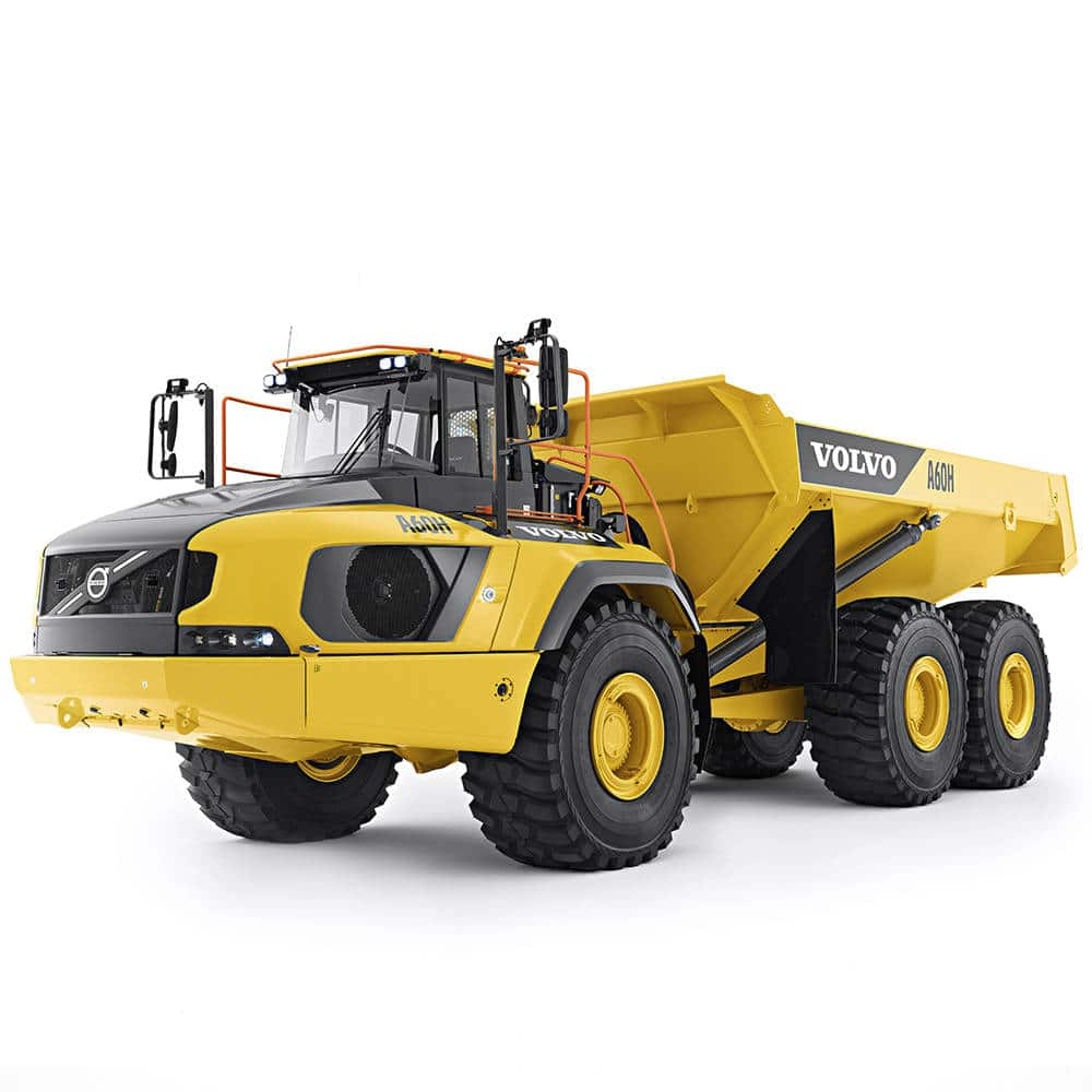 LEGO 42114 Knickgelenkter Volvo Dumper - Vorbild