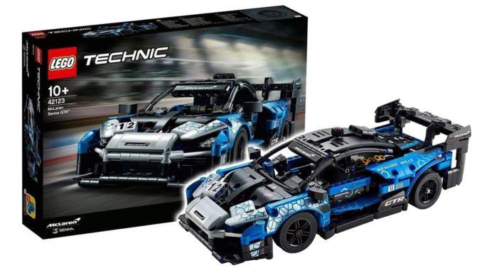 LEGO 42123 Mc Laren Senna Gtr Titel