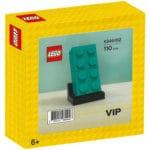 LEGO 5006291 2x4 Baustein Türkis Box