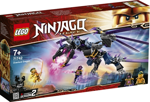 LEGO 71742 Ninjago Overlord Drache