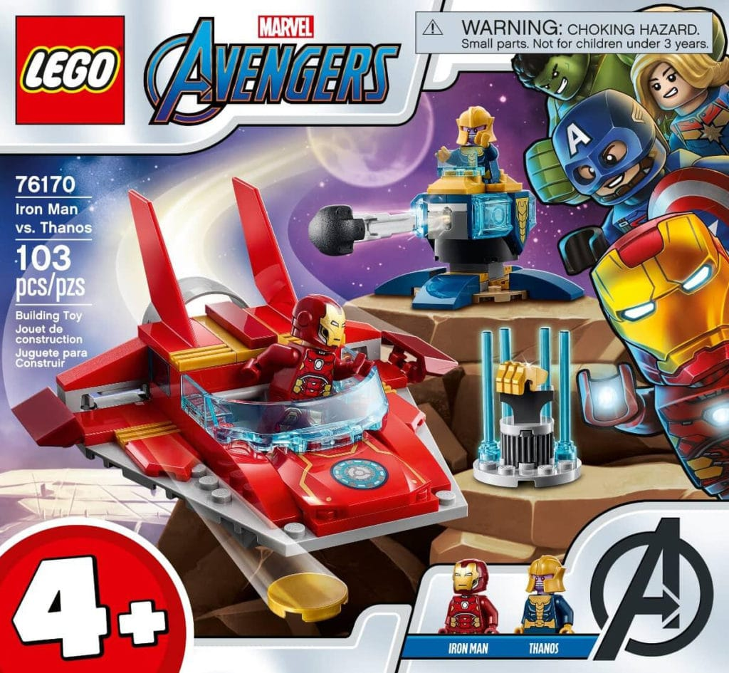 LEGO 76170 Iron Man Vs Thanos 2