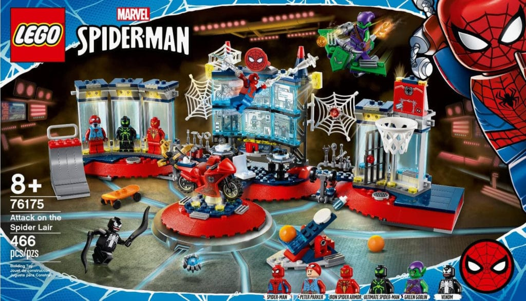 LEGO 76175 Attack On Spider Lair 2